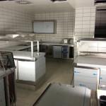 Die Kalte Küche hat einen separten Arbeitsbereich